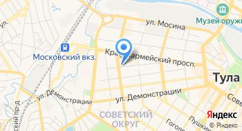 Комлайн на карте