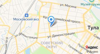 Тульский филиал ФГУП Ростехинвентаризация - Федеральное БТИ на карте