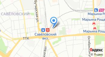 Савеловский на карте