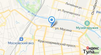 Магазин автозапчастей и автомастерская Тульский Мастер на карте