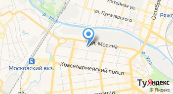 Юнитекс на карте