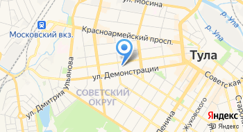 ГПОУ Тульский областной медицинский колледж на карте