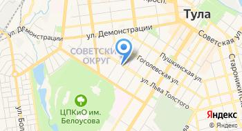 Аудит-Интеркласс на карте
