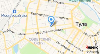 Отдел полиции Советский УМВД России по г. Туле на карте