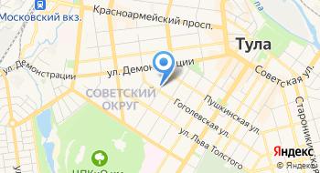 Т-строй на карте