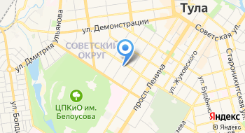 Государственное учреждение отделение Пенсионного фонда Российской Федерации по Тульской области на карте
