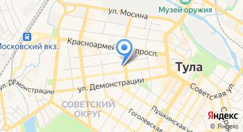 Центр обслуживания юридических лиц на карте