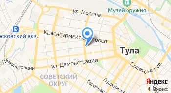 УФМС России по Тульской области Отделение в Советском районе г. Тулы на карте