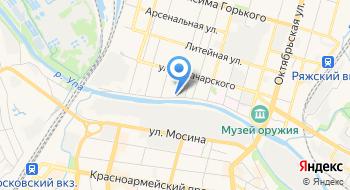 МБУ ДО СДЮСШОР Спортивная гимнастика на карте