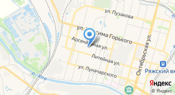 Следственный отдел по Зареченскому району города Тулы Следственного управления Следственного комитета Российской Федерации по Тульской области на карте