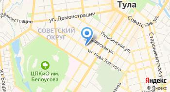 Первый центр Ментального Фитнеса Татьяны Поповой на карте