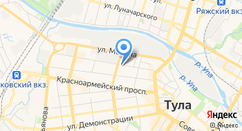 Управление ПФР в г. Туле Тульской области на карте