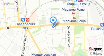 Автомойка на Новосущевской на карте
