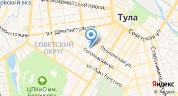 Следственное управление Следственного комитета РФ по Тульской области на карте