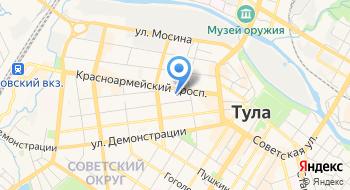 Коллегия адвокатов №3 города Тулы на карте