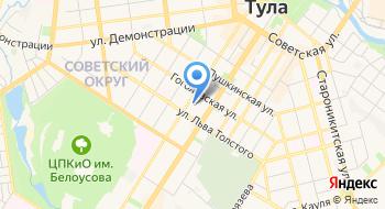 Государственное профессиональное учреждение Тульской области Тульский технико-экономический колледж имени А.Г. Рогова на карте