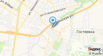Тульский кирпичный завод на карте