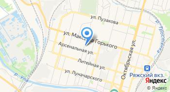 Бинбанк, офис на карте
