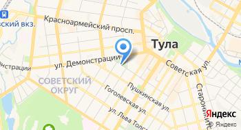 Тульская Нива на карте