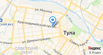 Арбитражный суд Тульской области Секретариат председателя суда на карте