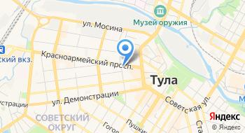 Арбитражный суд Тульской области на карте
