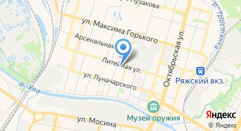 Санитарно-дезинфекционный центр на карте