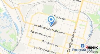 Книжгород на карте