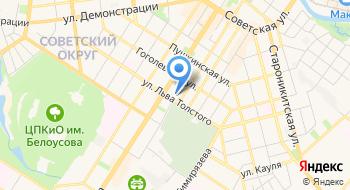 ОЕИРЦ Абонентский отдел по Центральному району на карте