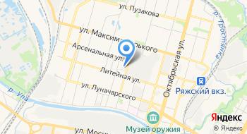 Тульская макаронная фабрика на карте