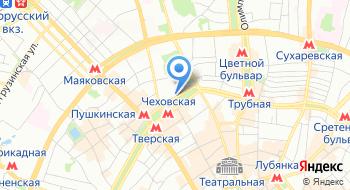 Московская школа гипноза Геннадия Гончарова на карте