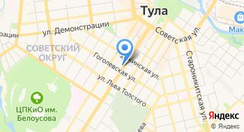 Ростехнадзор, Приокское управление на карте