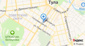 Тульская областная филармония на карте