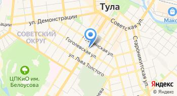 Комитет Тульской области по делам ЗАГС на карте