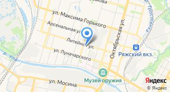 ФДБУ ФКП Росреестра по Тульской области на карте