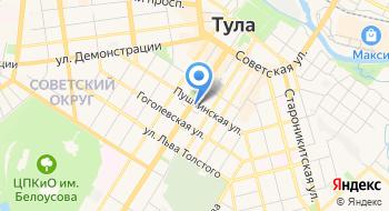 Тульский областной суд на карте