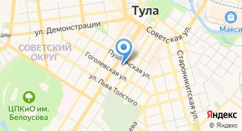 ГУЗ Станция скорой медицинской помощи г. Тулы, подстанция № 1 на карте