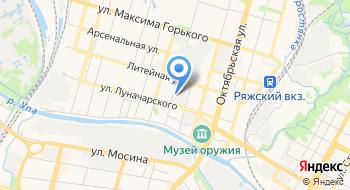 Ю-Пак Техника на карте