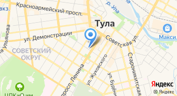 Женская консультация ГУЗ Городская больница №12 г. Тулы на карте