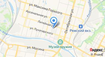 Протэкс на карте