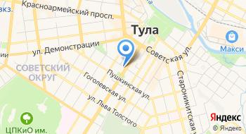 УРАЛСИБ банк Операционный офис, город Тула на карте