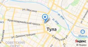 Прокуратура Центрального района г. Тула на карте