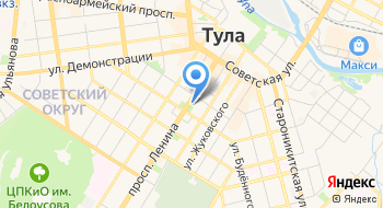 ГПОУ ТО Тульский Государственный коммунально-строительный техникум на карте