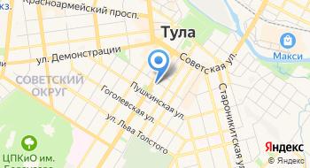 Авиакасса Авиатула.ру на карте