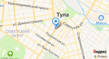 РАНХиГС Тульский филиал на карте