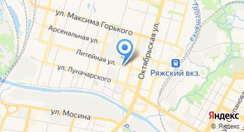 Прокуратура Зареченского района г. Тула на карте