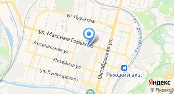 ОСП Зареченского района на карте