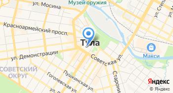 Избирательная комиссия Тульской области на карте