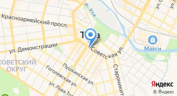 Тульский государственный театр кукол на карте