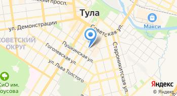 ИП Наумова А.В. Рекламное бюро Avn71 на карте