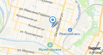 Центр спутникового мониторинга на карте